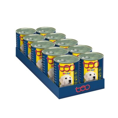 Wet dog poultry food