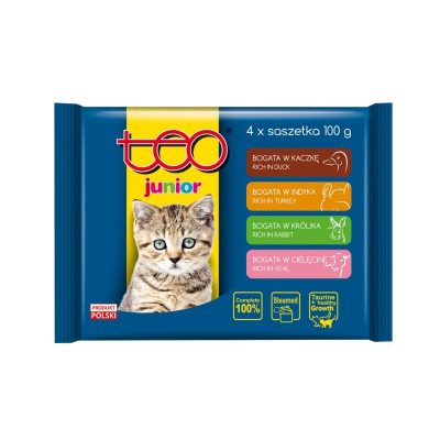 Teo Junior pouches for cats