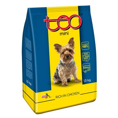 Dry dog food chicken