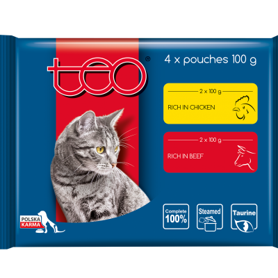 Teo pouches for cats