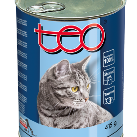 Teo wet food rich in Baltic fish