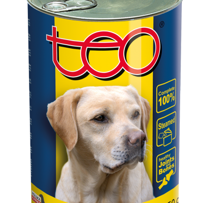 eo wet food for dogs rich in chicken