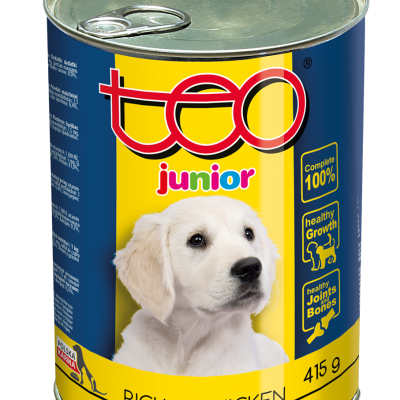 Teo wet food junior rich in chicken