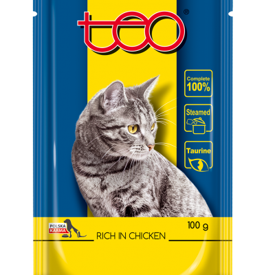 Teo wet cat food pouches