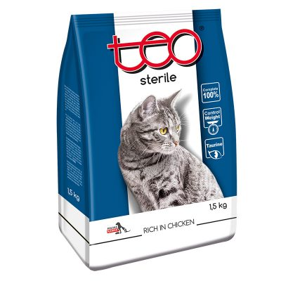 Cat food sterile poultry