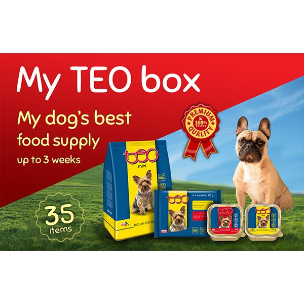 My TEO box for dogs